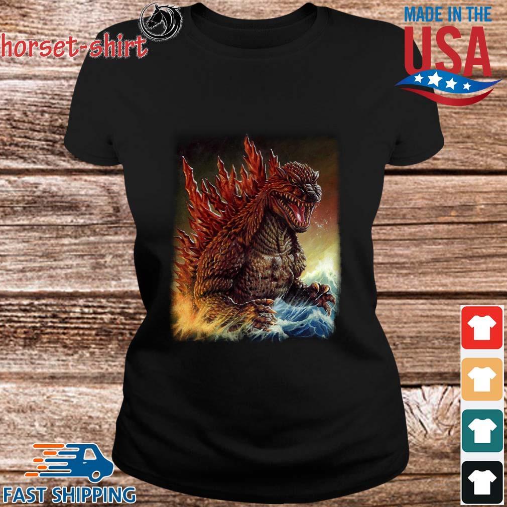 Godzilla King Of Monsters Shirt ladies den