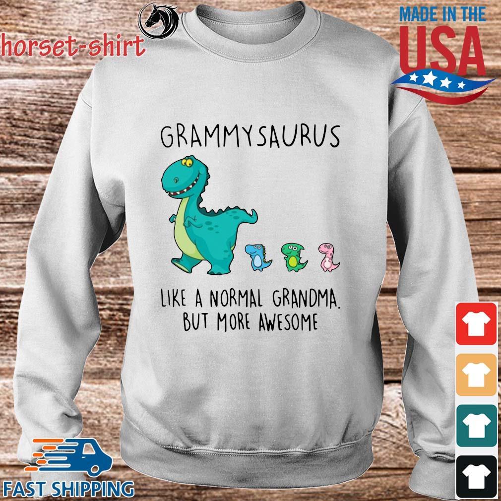 Grammarsaurus Like A Normal Grandma But More Awesome Shirt Sweater trang