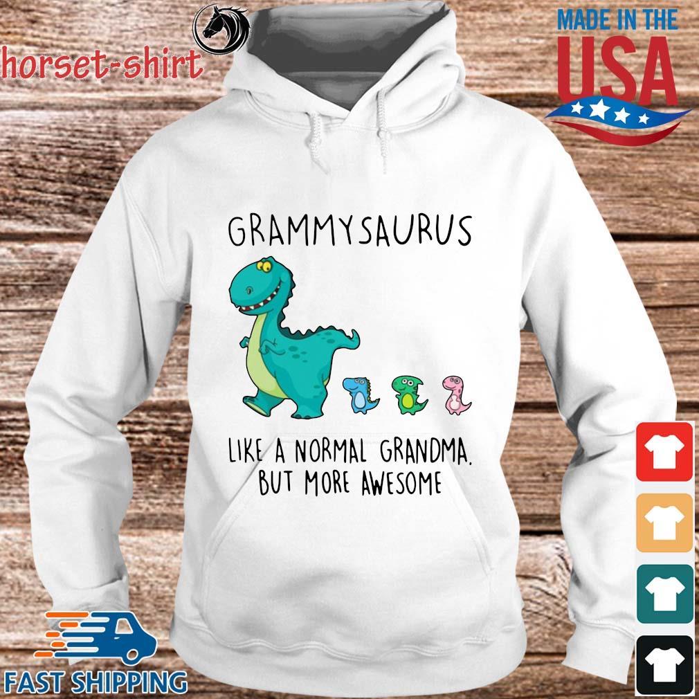Grammarsaurus Like A Normal Grandma But More Awesome Shirt hoodie trang