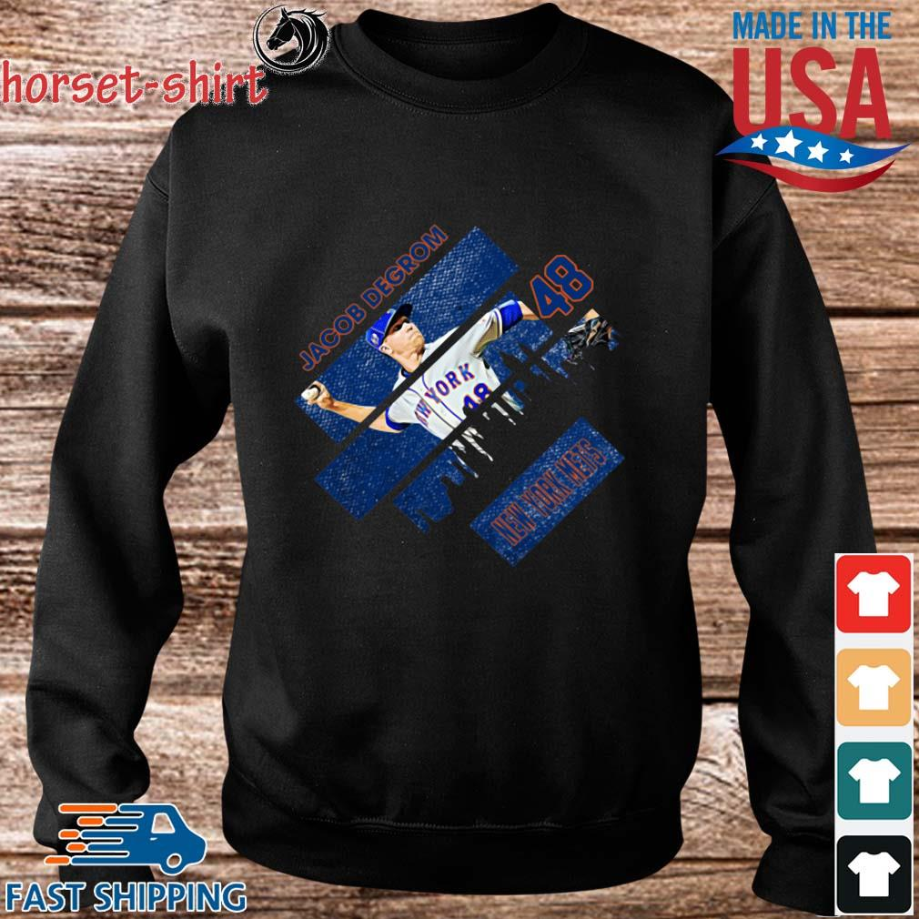 Jacob Degrom 48 New York Mets Baseball Shirt Sweater den