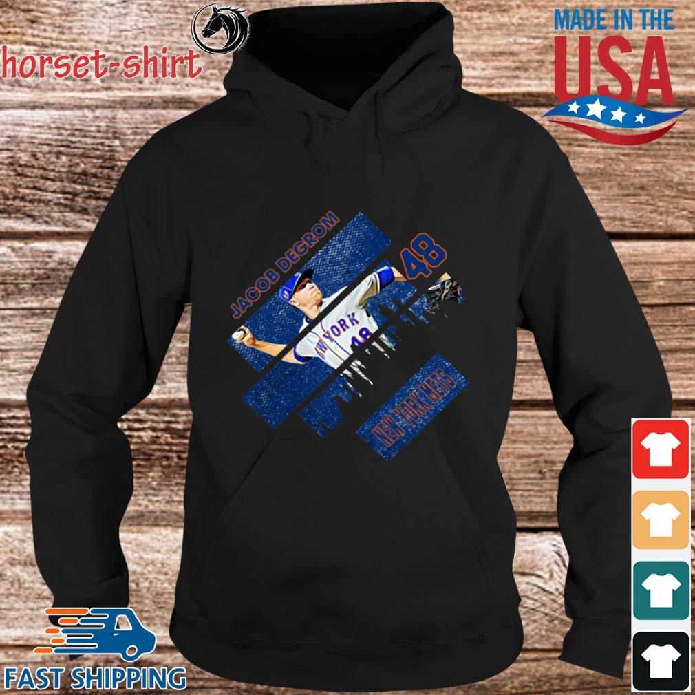 Jacob Degrom 48 New York Mets Baseball Shirt hoodie den