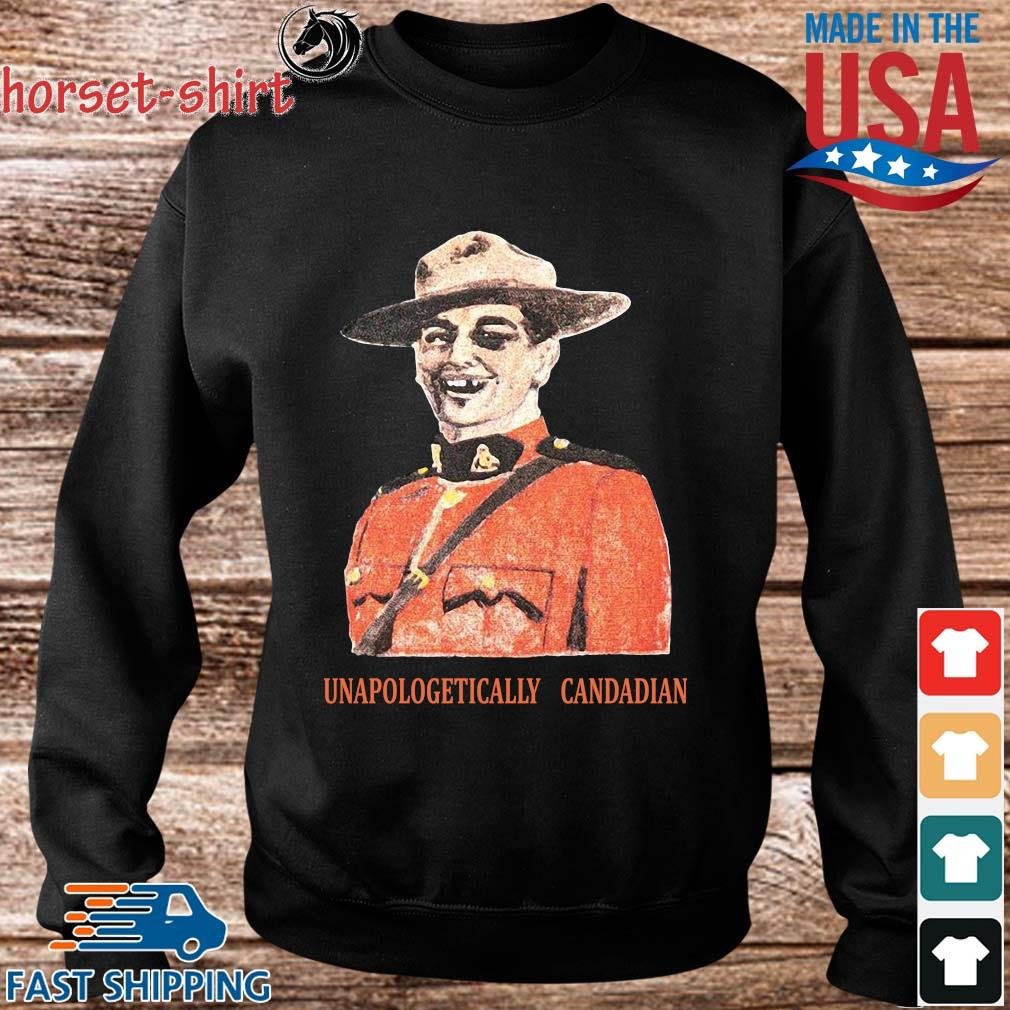 Noble Gentlemen X Spittin Chiclets Unapologetically Canadian Shirt Sweater den