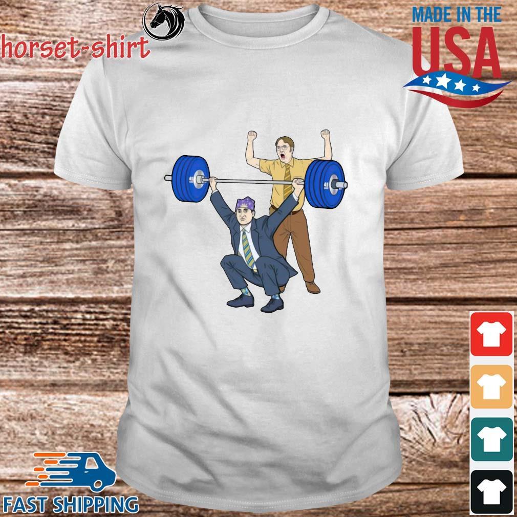 Michael Scott Dwight Schrute Gym Shirt