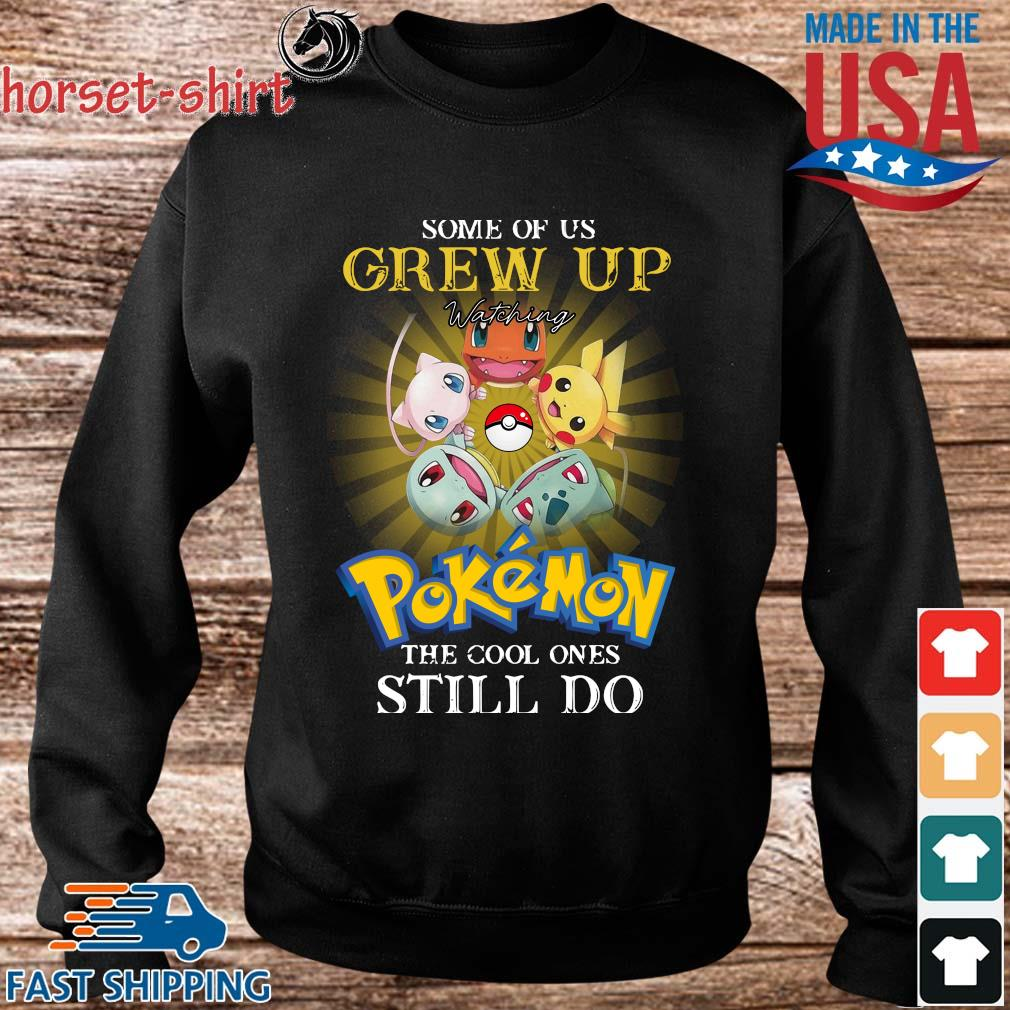 Some of us grew up watching Pokemon the cool ones still do s Sweater den