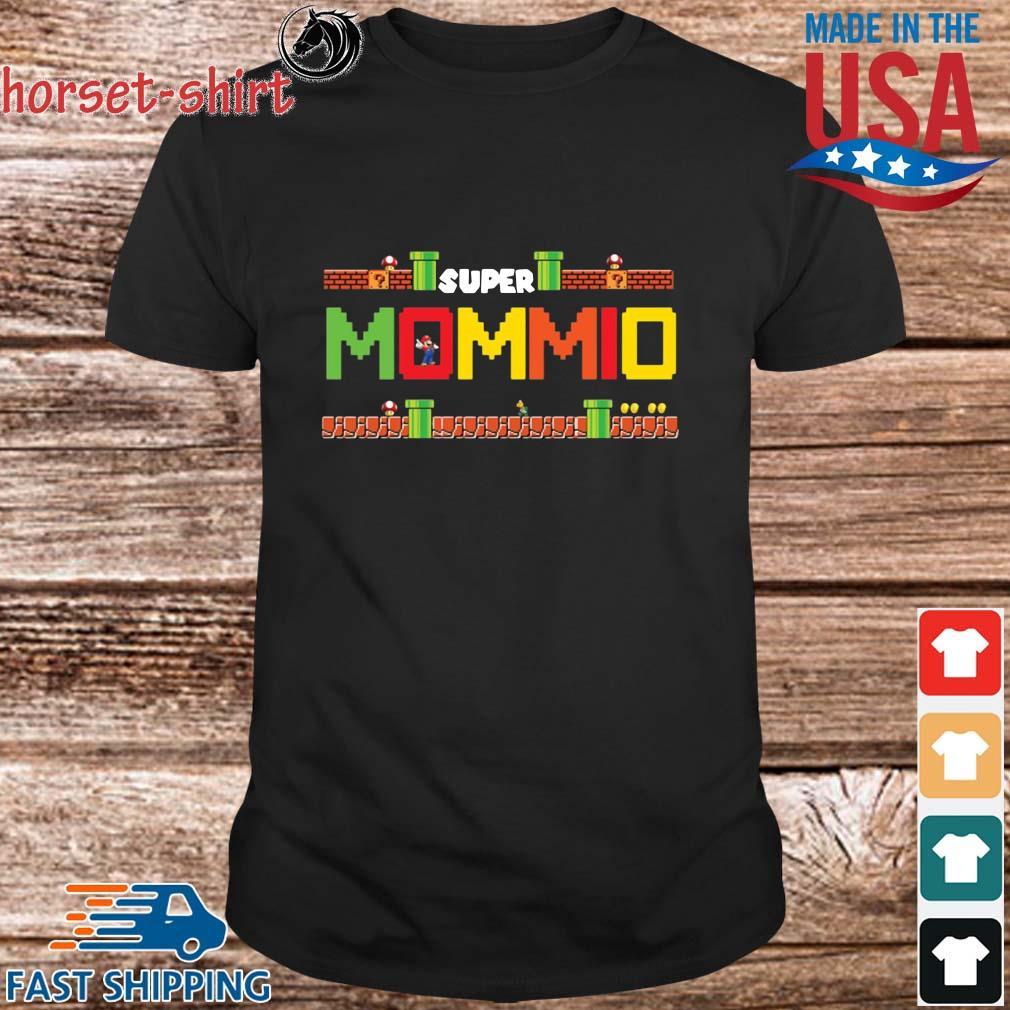 Super Mario Super Mommio Shirt