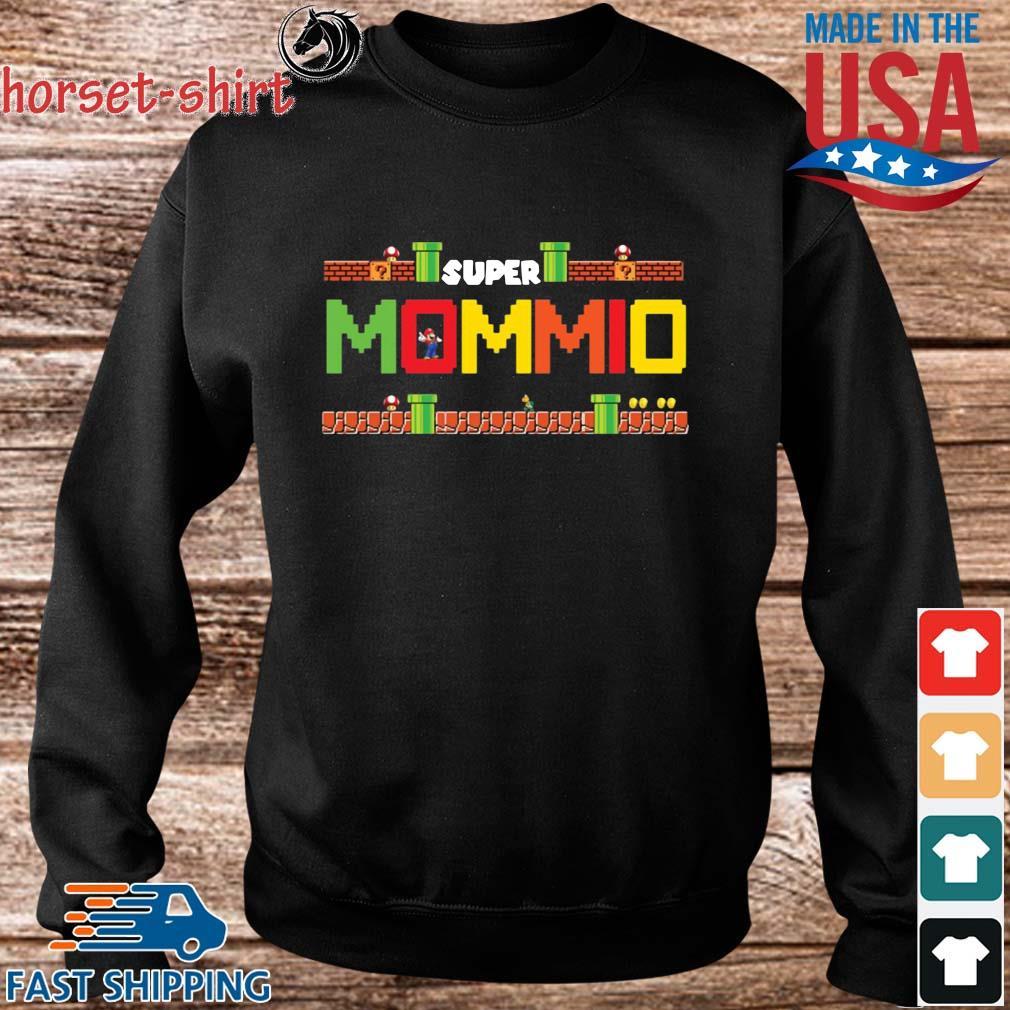 Super Mario Super Mommio Shirt Sweater den