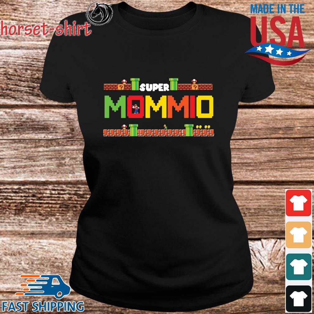 Super Mario Super Mommio Shirt ladies den