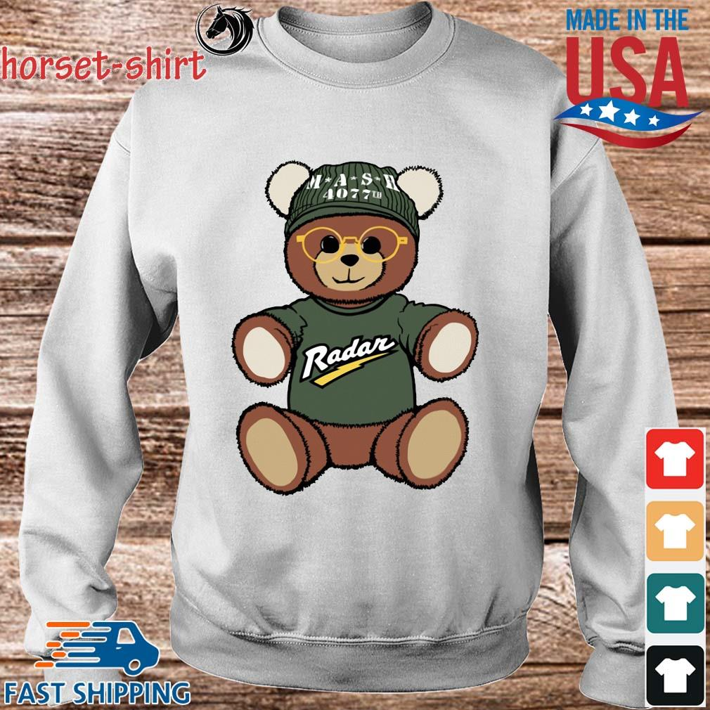 Teddy Bear Mash 4077th Radar Shirt Sweater trang