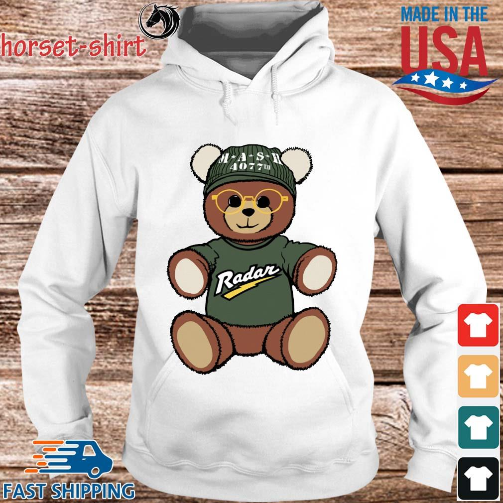 Teddy Bear Mash 4077th Radar Shirt hoodie trang