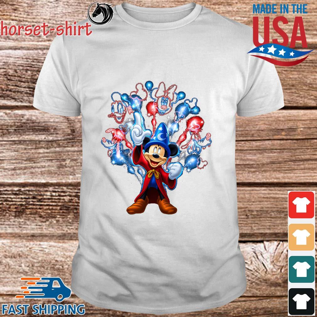 Disney Mickey Mouse Happy 4th Of July Shirt