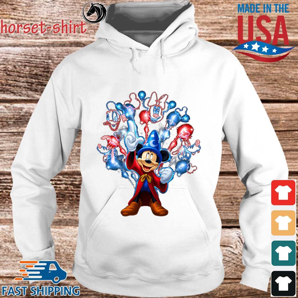 Disney Mickey Mouse Happy 4th Of July Shirt hoodie trang