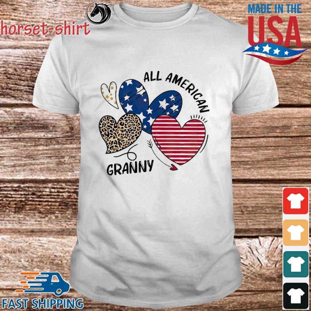 Heart All American Granny Shirt
