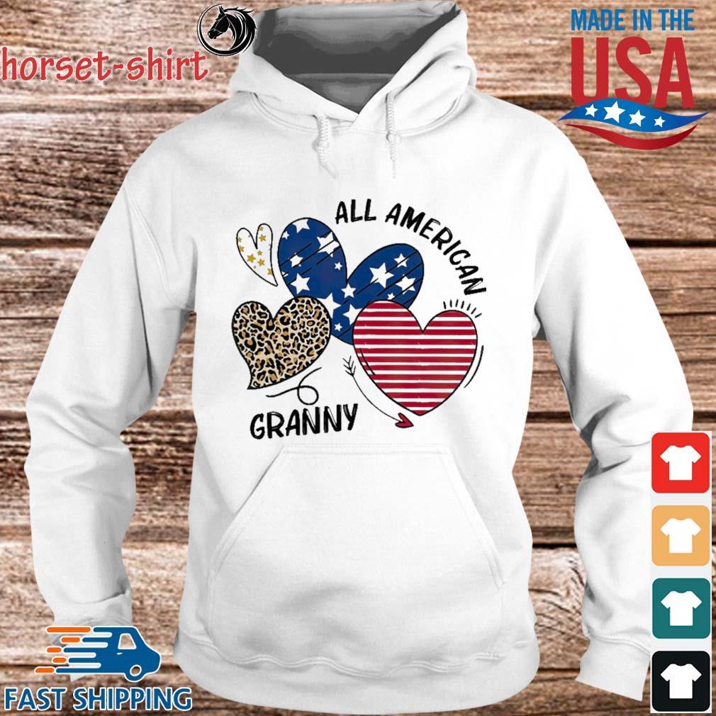 Heart All American Granny Shirt hoodie trang