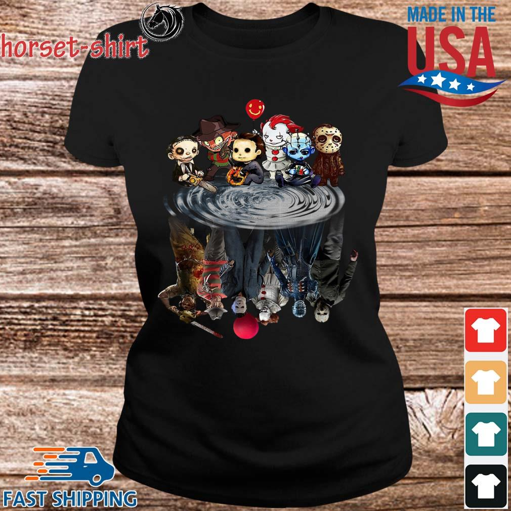 Chibi Horror Characters Horror movie Characters reflection s Ladies den