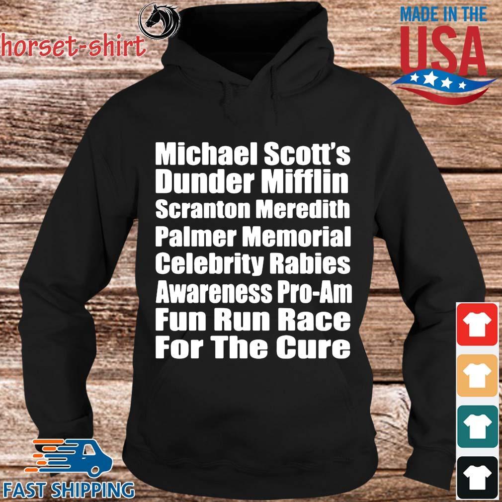 Michael scott's dunder mifflin scranton meredith palmer memorial celebrity rabies s Hoodie den
