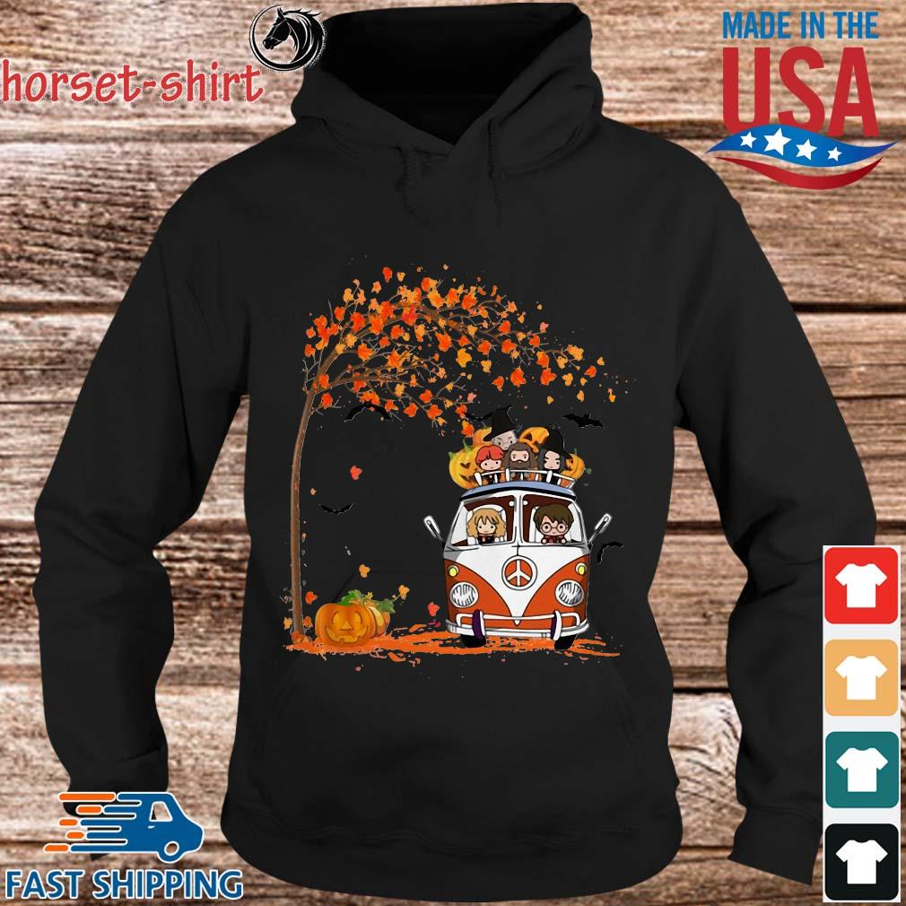 New York Yankees driving car autumn leaf tree s Hoodie den