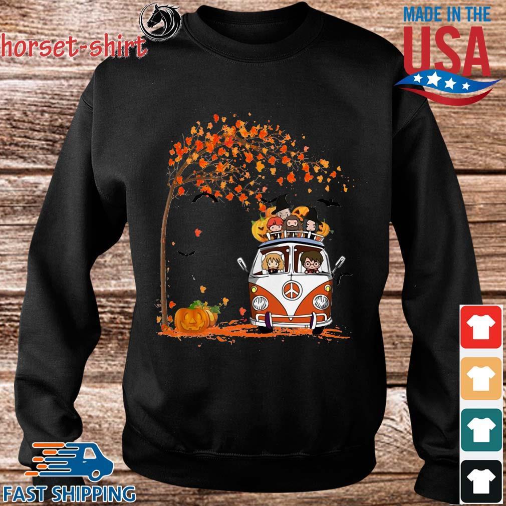 New York Yankees driving car autumn leaf tree s Sweater den