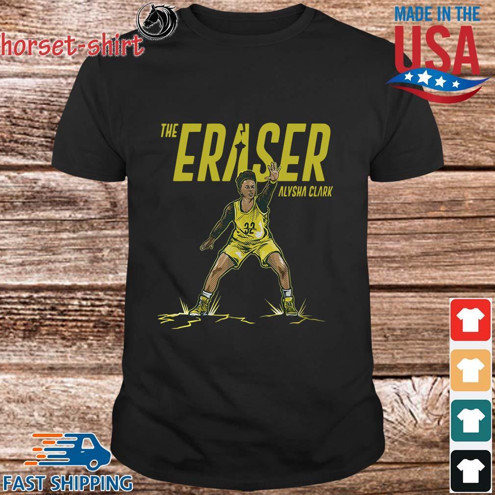 Alysha Clark the eraser shirt