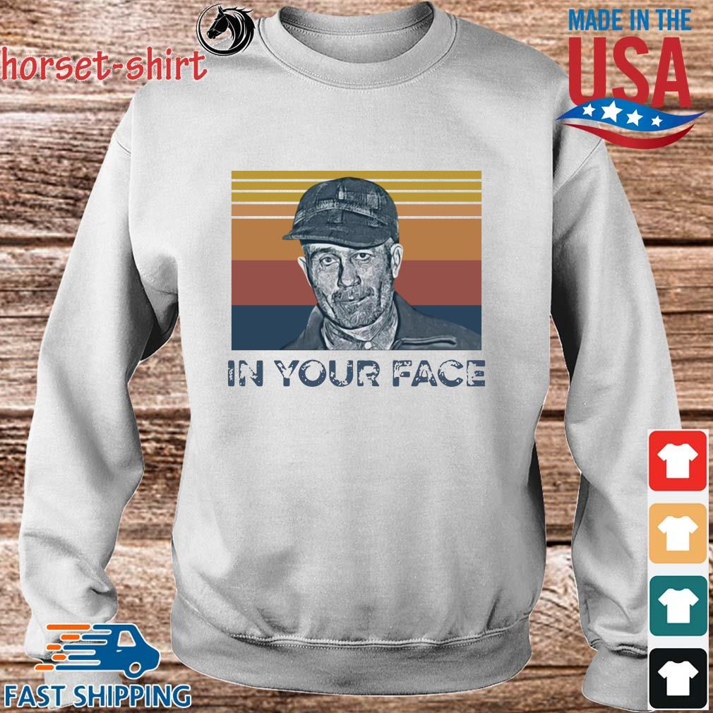Ed Gein in your face vintage s Sweater trang