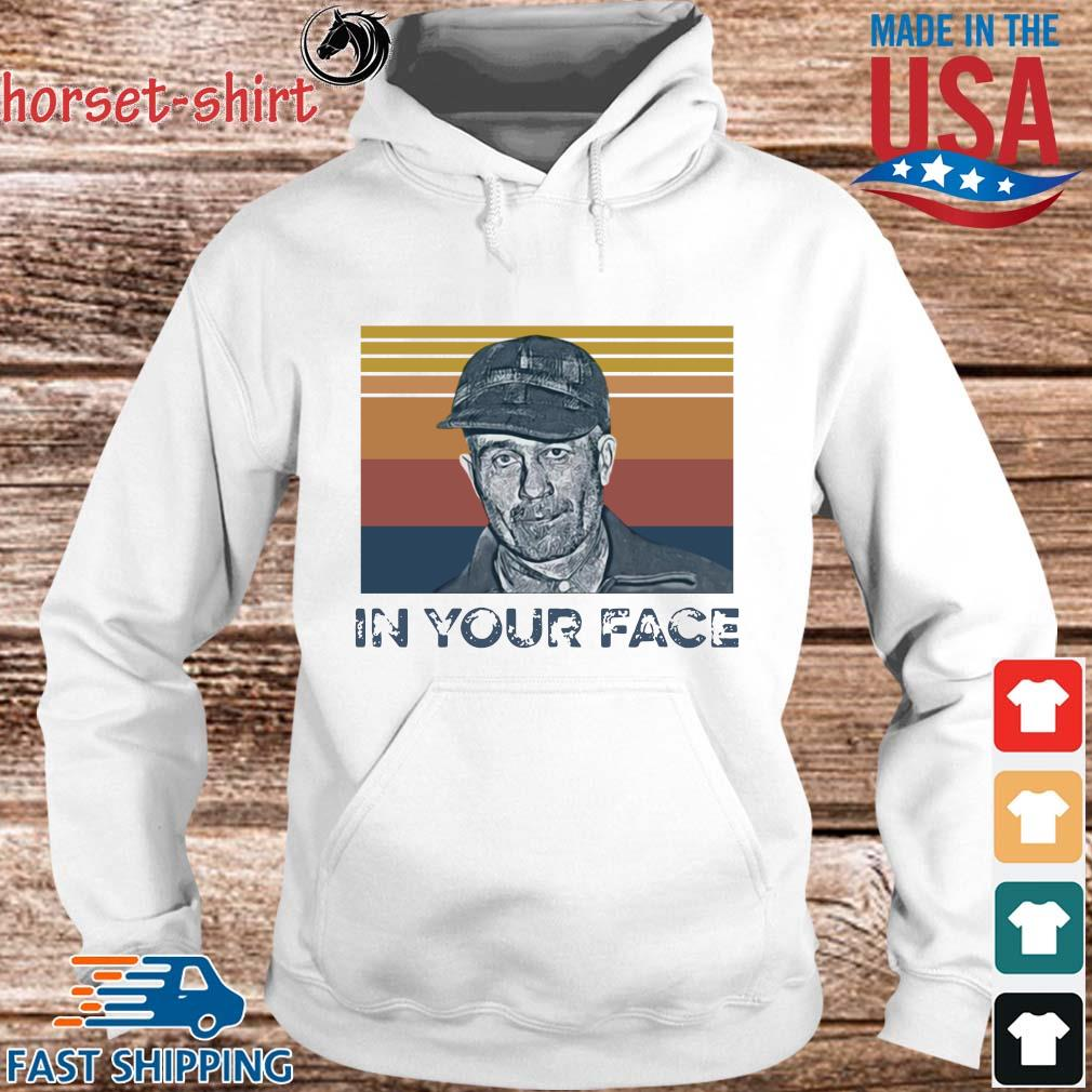 Ed Gein in your face vintage s hoodie trang