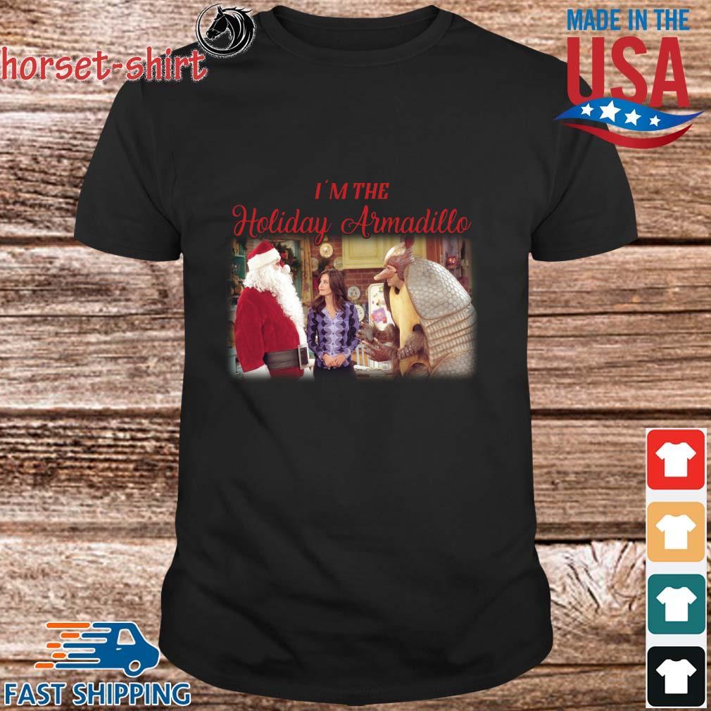 Friends I'm the Holiday Armadillo Christmas shirt