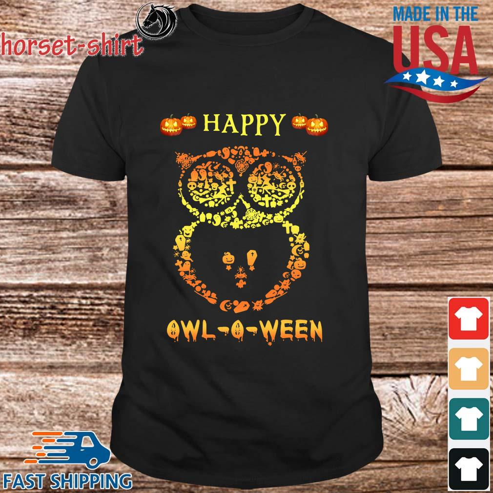 Happy Owl-O-Ween Halloween shirt