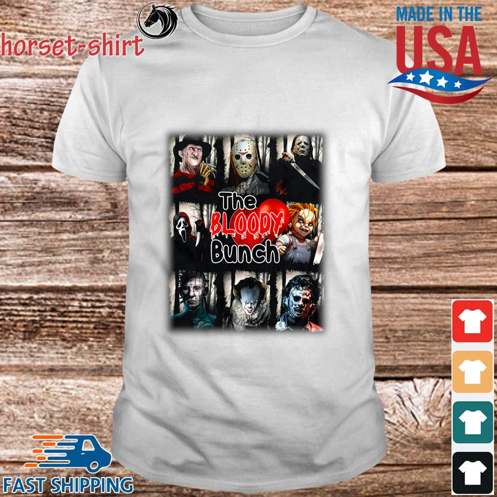 Horror movie character the bloody bunch Halloween shirt