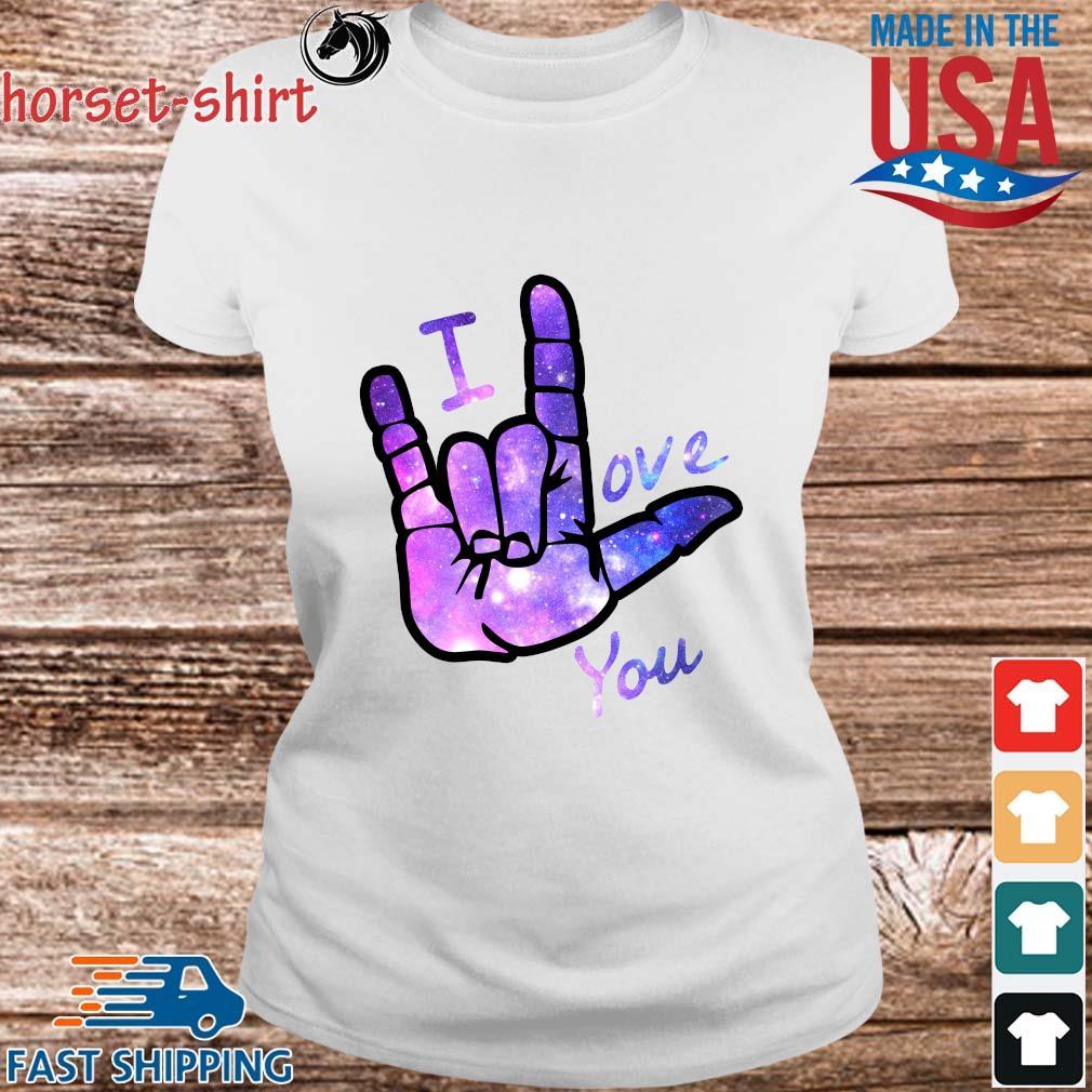 I love you sign language s Ladies trang