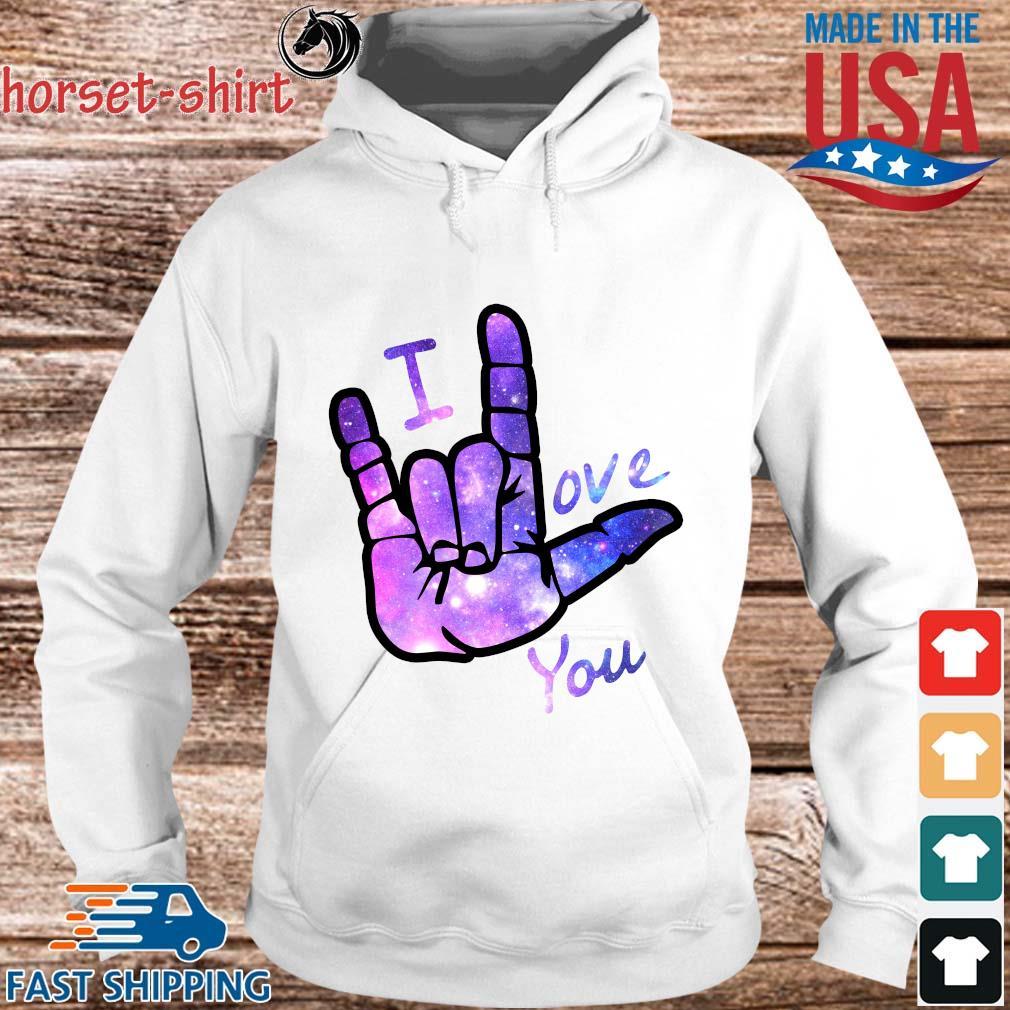 I love you sign language s hoodie trang