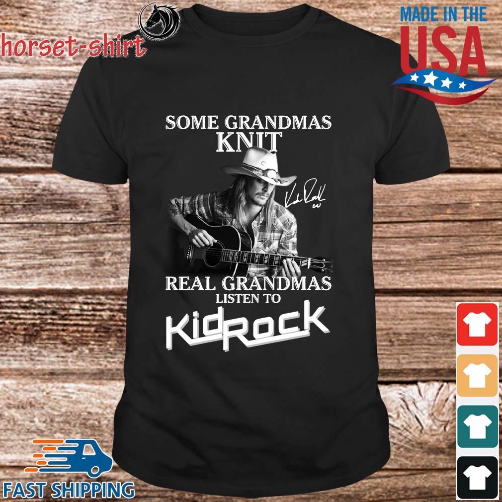 Paul Walker some grandmas knit real grandmas listen to Kid Rock shirt