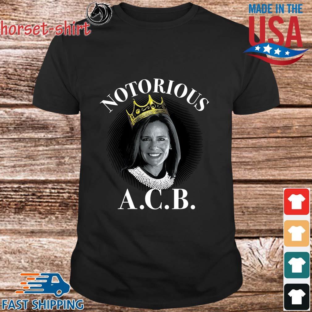 Ruth Bader Ginsburg crown notorious ACB shirt