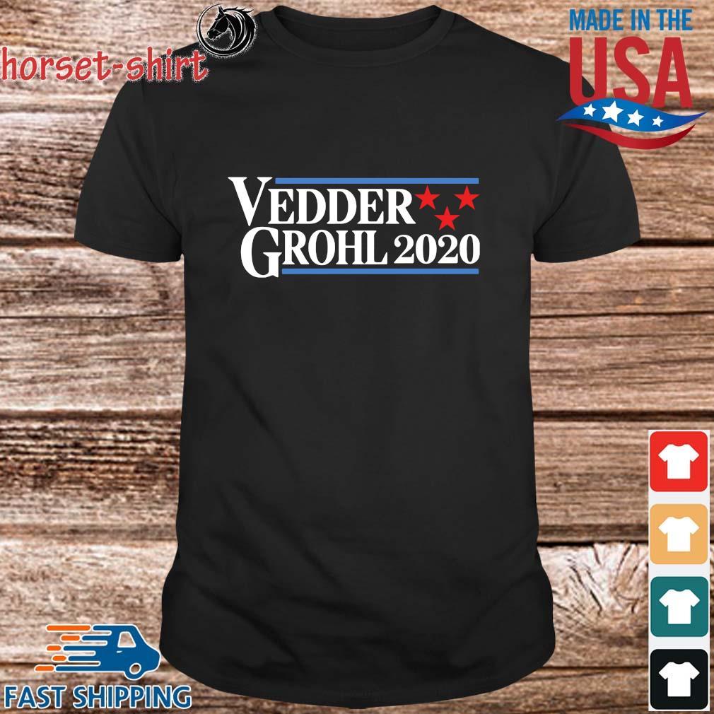Vedder Grohl 2020 shirt