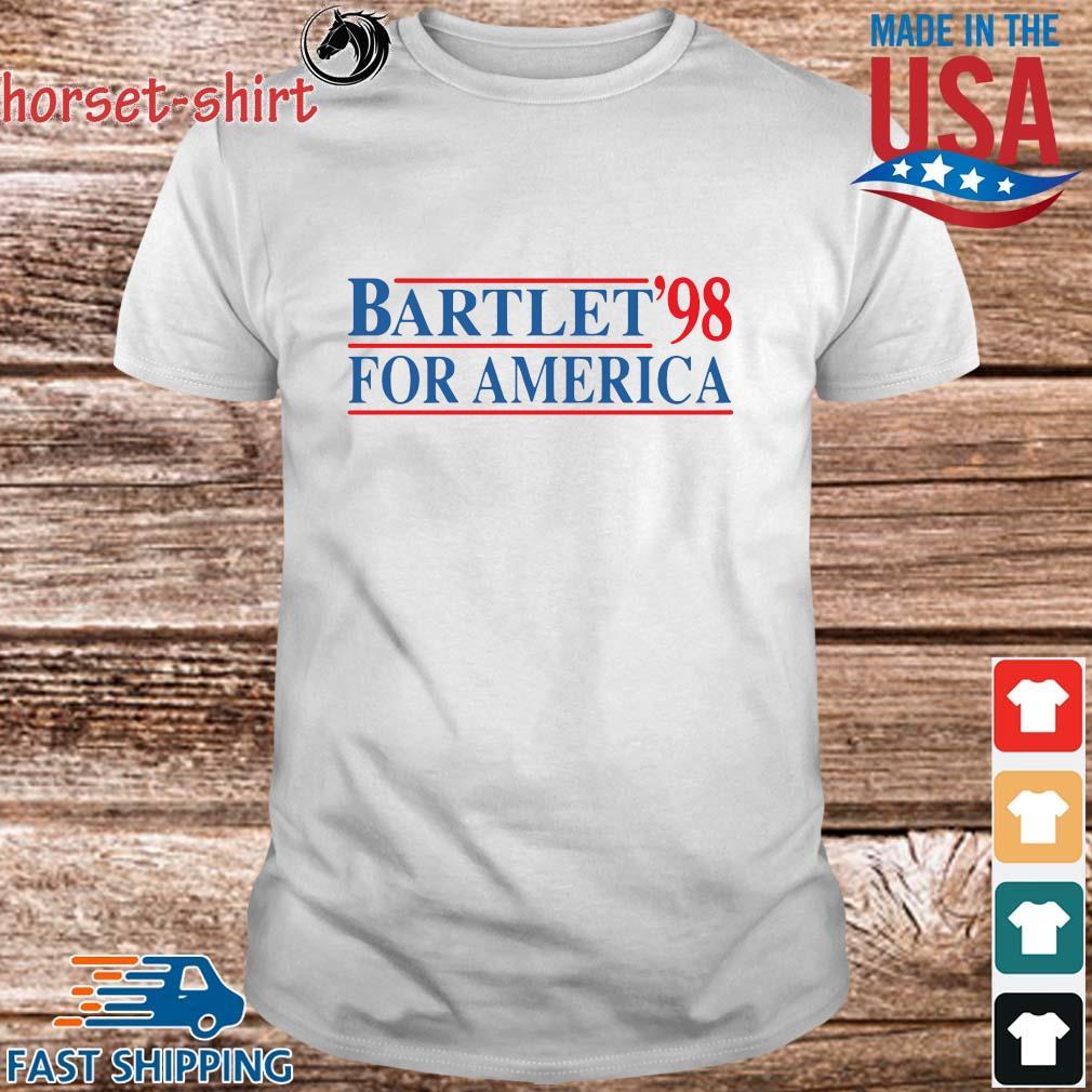 Bartlet _98 for America shirt