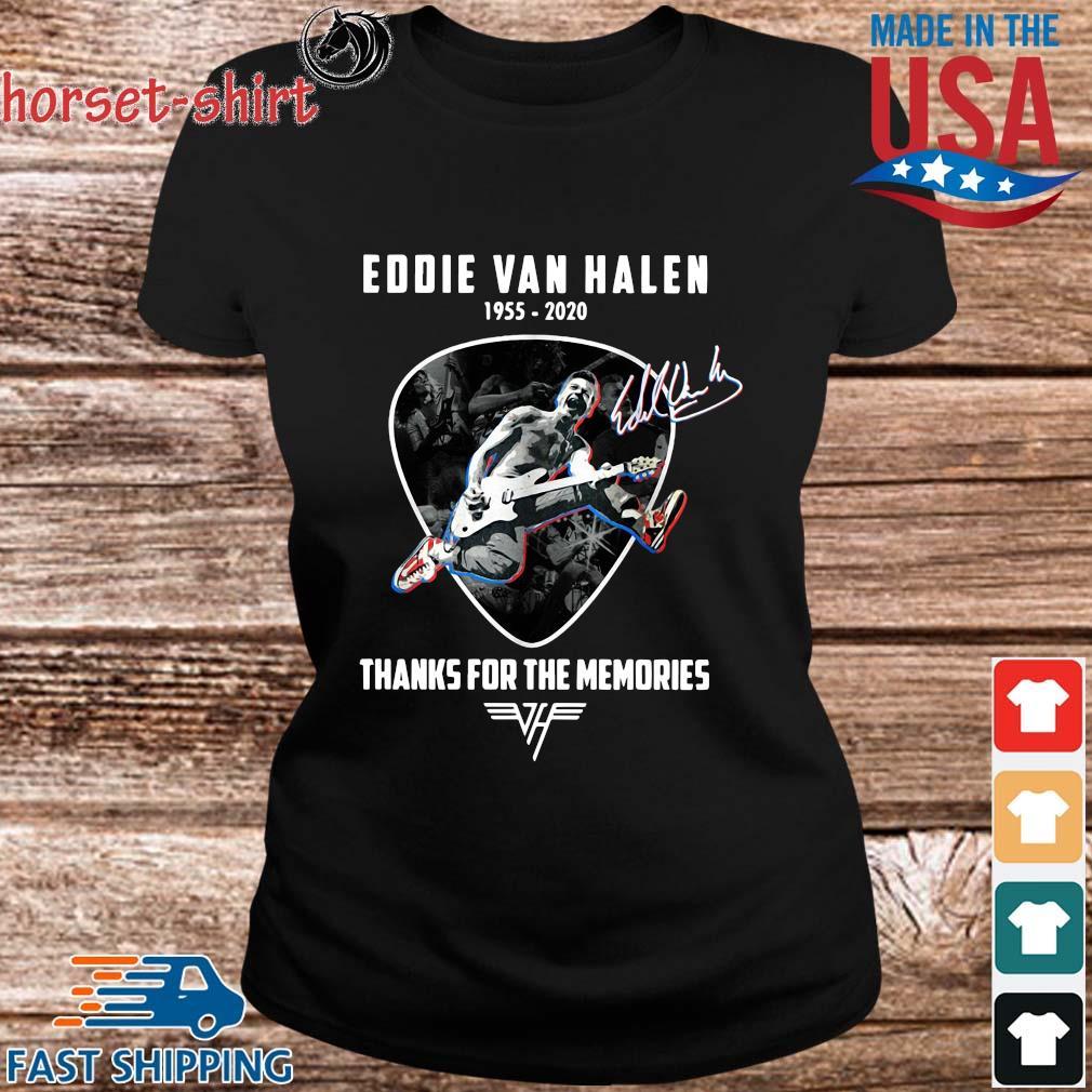 Eddie Van Halen 1955-2020 thanks for the memories signature s ladies den