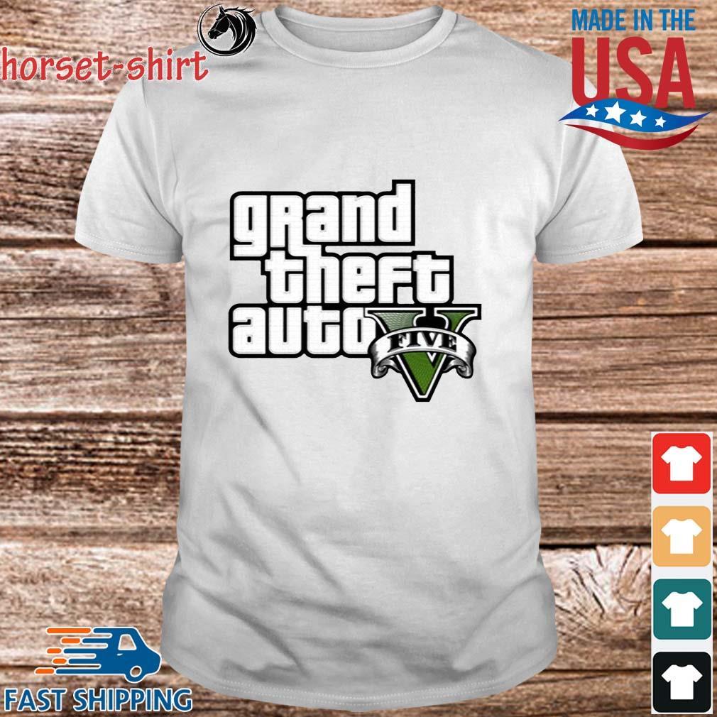 Grand Theft Auto V Logo Shirt