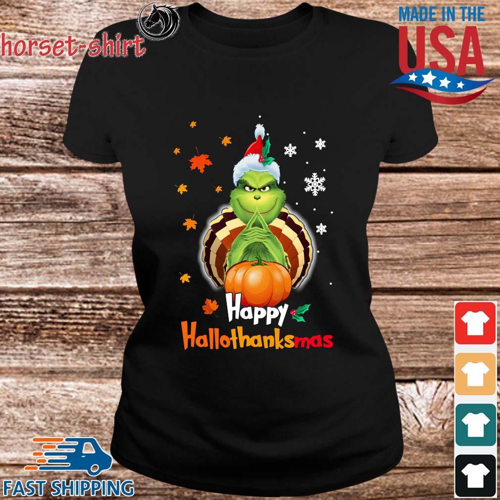 Grinch Halloween and Christmas happy Hallothanksmas s ladies den