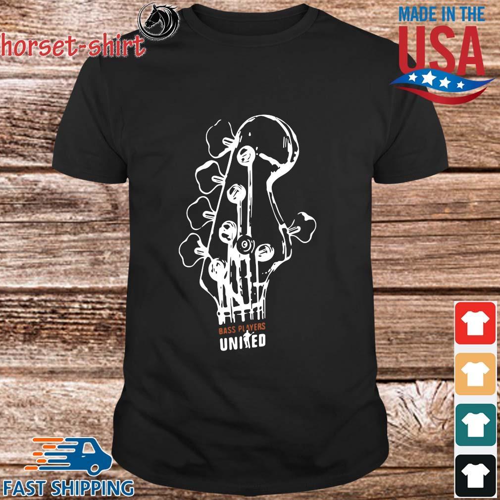 Guitar bass players united shirt