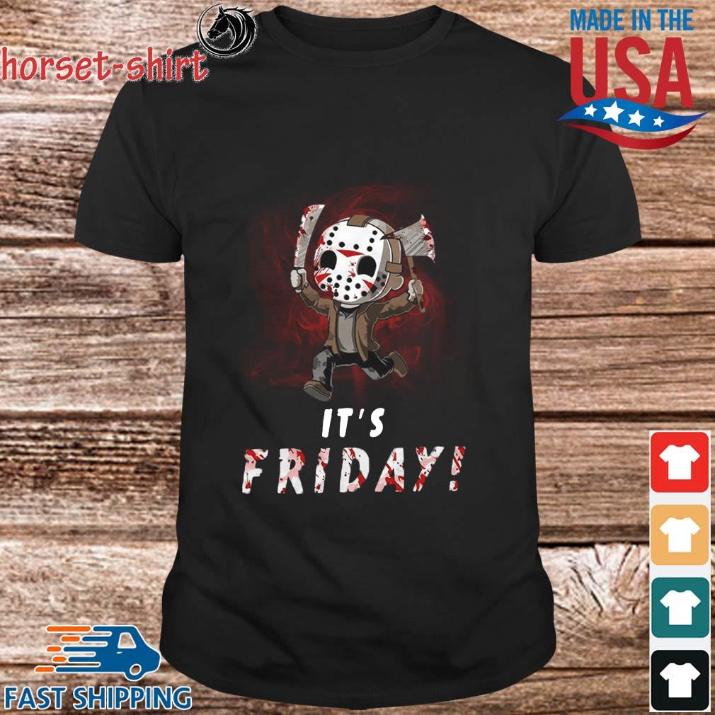 Jason Voorhees chibi it_s Friday shirt