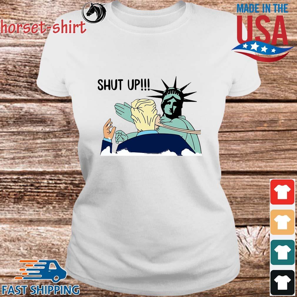 Liberty slap Donald Trump shut up s Ladies trang
