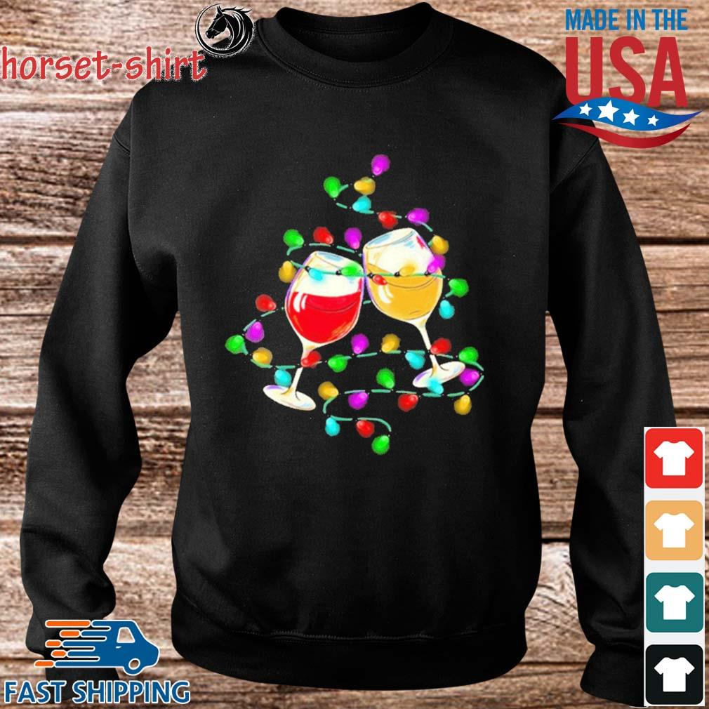 Wine light Merry Christmas sweater Sweater den