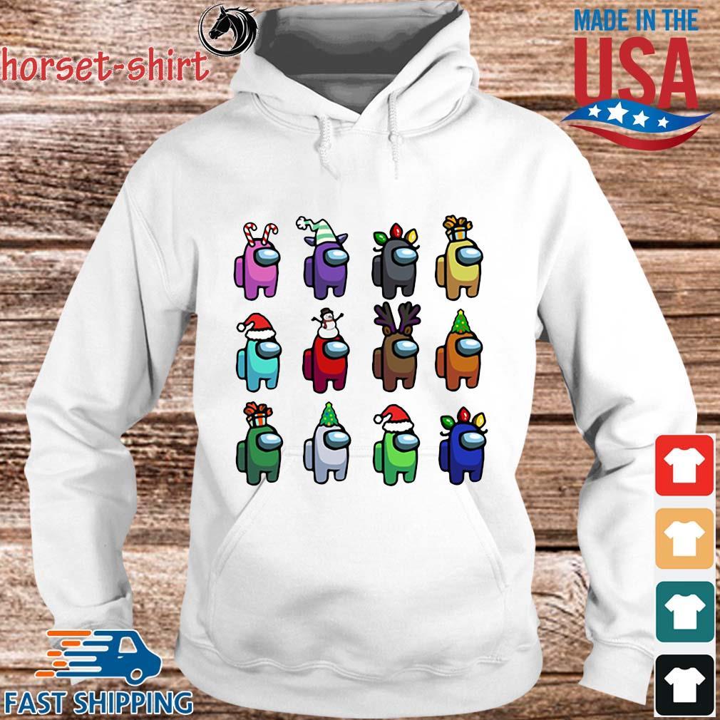 Among Us Character Customize Christmas 2020 Sweats hoodie trang