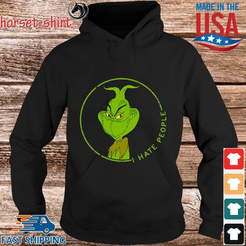 The Grinch I hate people s Hoodie den
