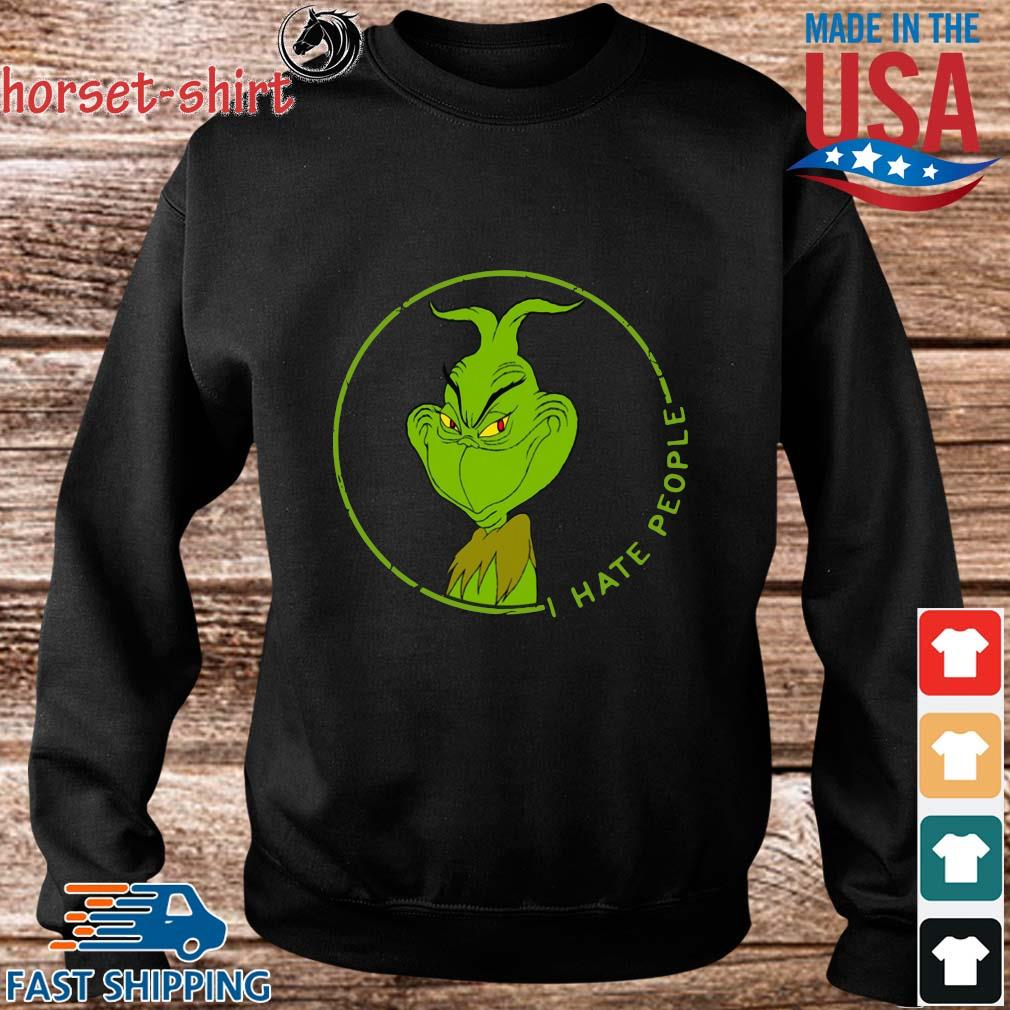The Grinch I hate people s Sweater den