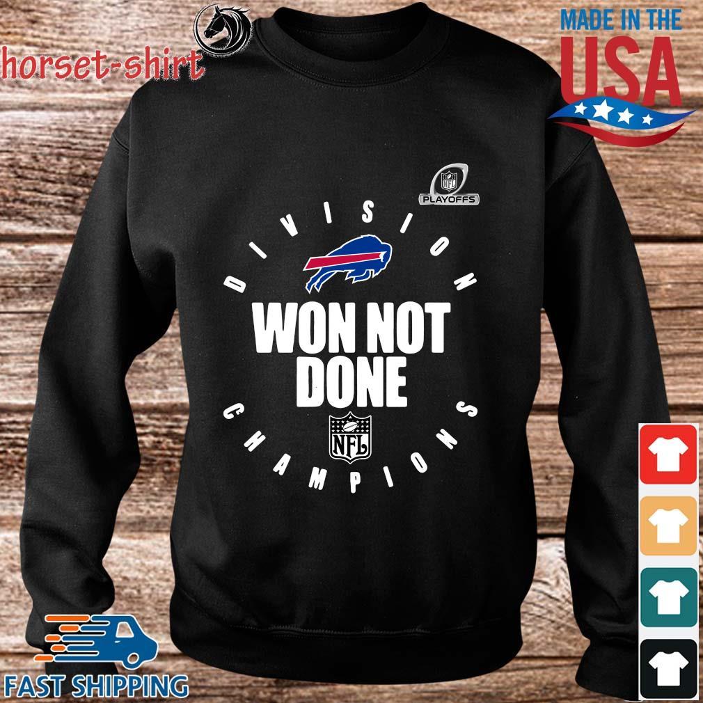 Buffalo Bills Champions 2020 Won Not Done T-Shirt Sweater den