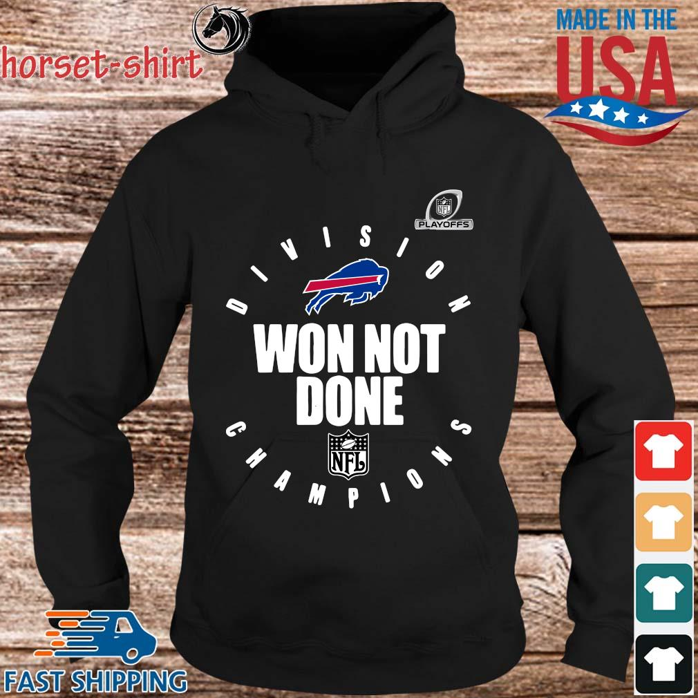 Buffalo Bills Champions 2020 Won Not Done T-Shirt hoodie den
