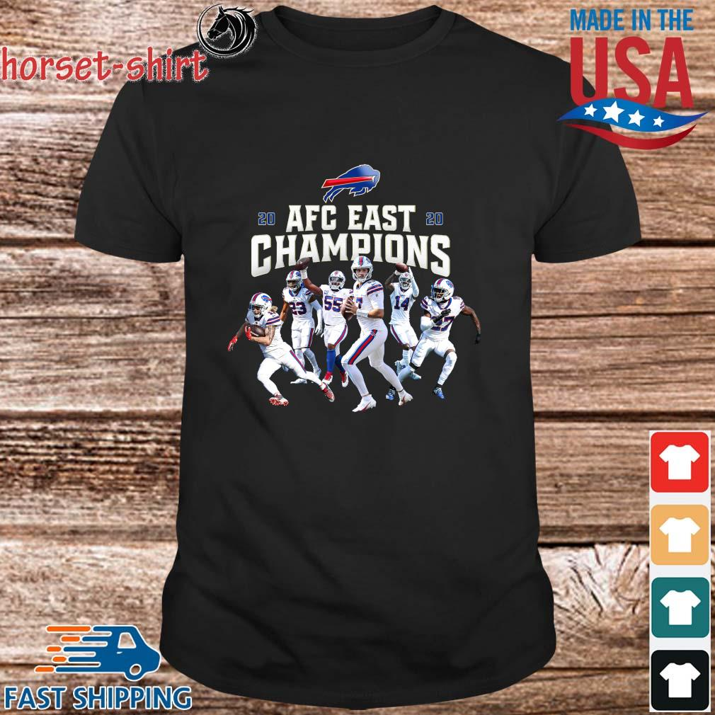 Buffalo Bills Players 2020 AFC East Champions shirt, sweater