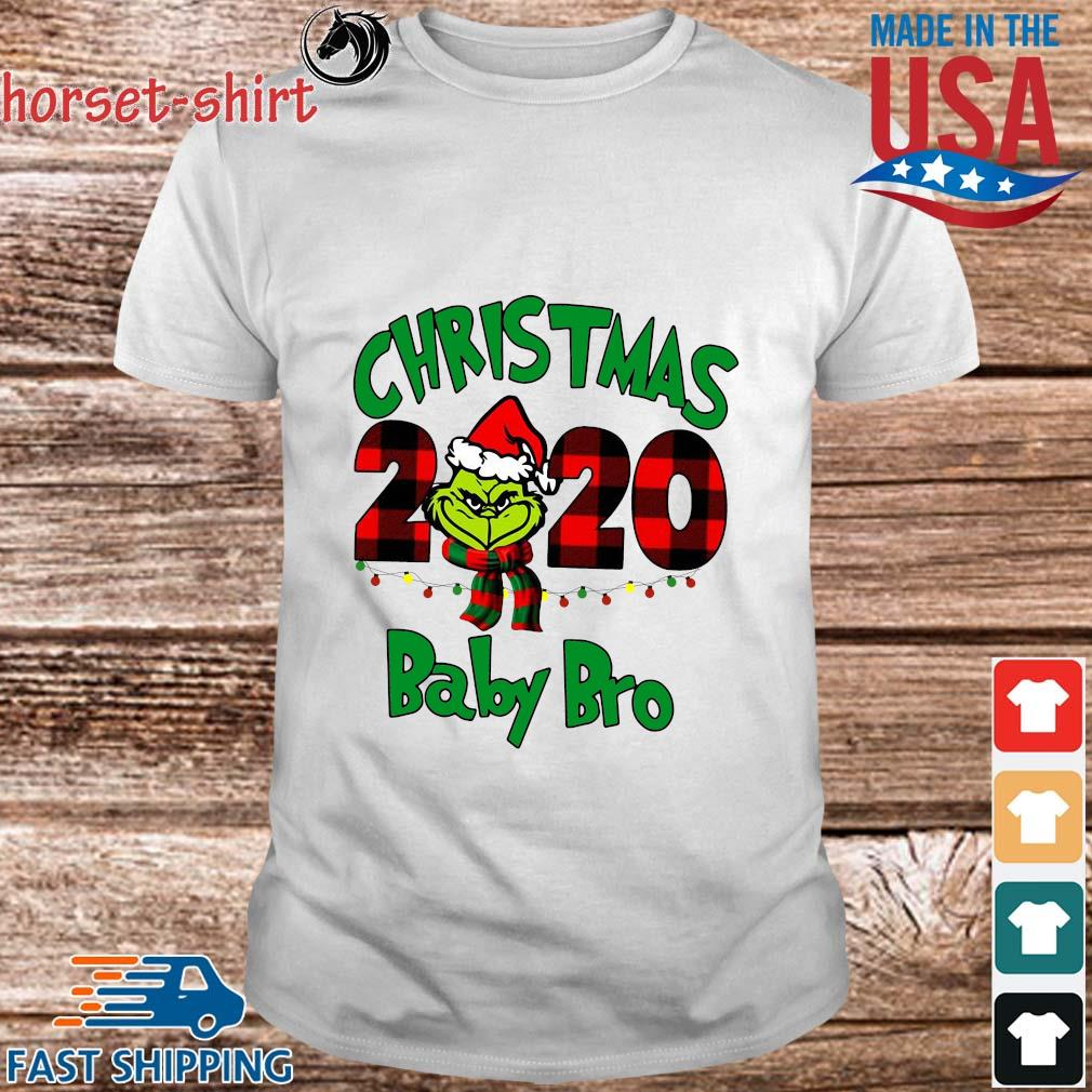 The Grinch Christmas 2020 baby bro sweater