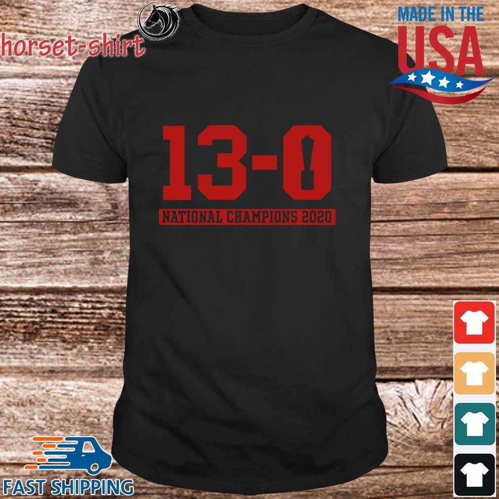 13-0 national Champions 2020 Sweater
