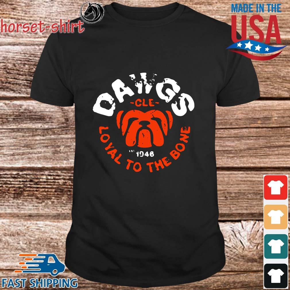 Bulldog dawgs cle 1948 loyal to the bone shirt