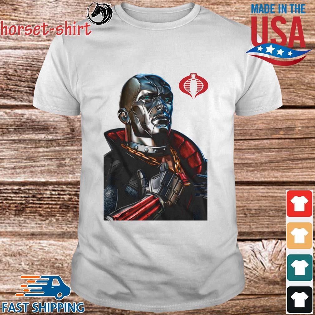 Destro Classic Pose GI Joe Shirt